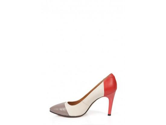 Pantofi Clarette in 3 culori din piele naturala model 05