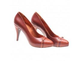 Pantofi de dama brown Work Day
