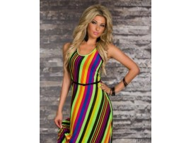 Rochie BeautifullRainbow NeonGreen