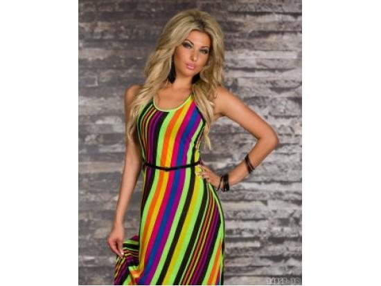 Rochie BeautifullRainbow NeonGreen