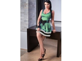 Rochie SweetHeart Green
